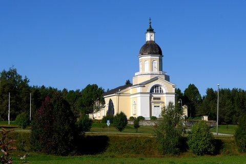 La nouvel église de Keminmaa