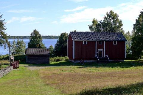 Keminmaa Museum and Kemijoki river