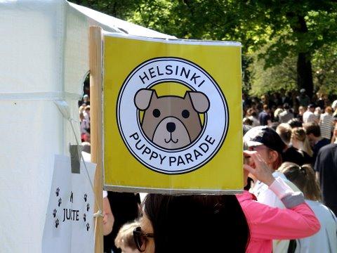 Helsinki Puppy Parade