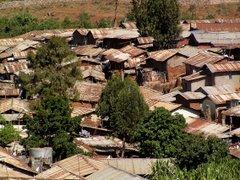 Kiberan slummi, Nairobi (Kenia)