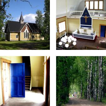 Himalansaari, Ristiina: kirkko / church / église