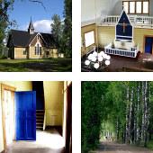 Église de Himalansaari, Ristiina (Finlande)