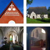 Kalix and Keminmaa churches (Sweden & Finland)
