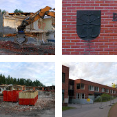 Rantakylä school demolition
