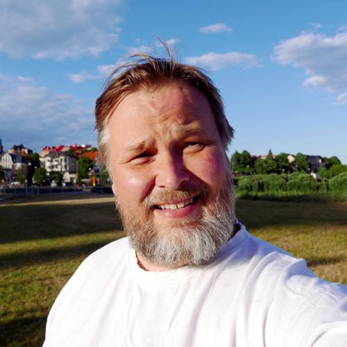 Niko Lipsanen (selfie, Eiranranta 2016-06-13)