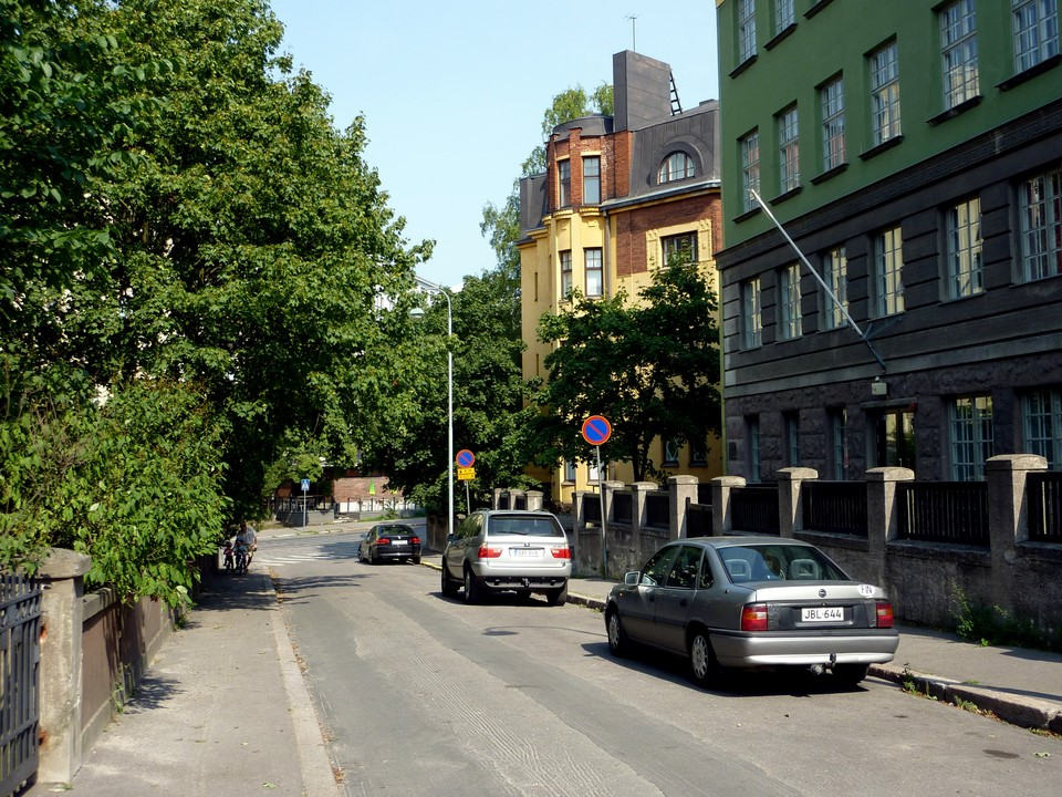 Ehrensvärdintie, Eira, Helsinki