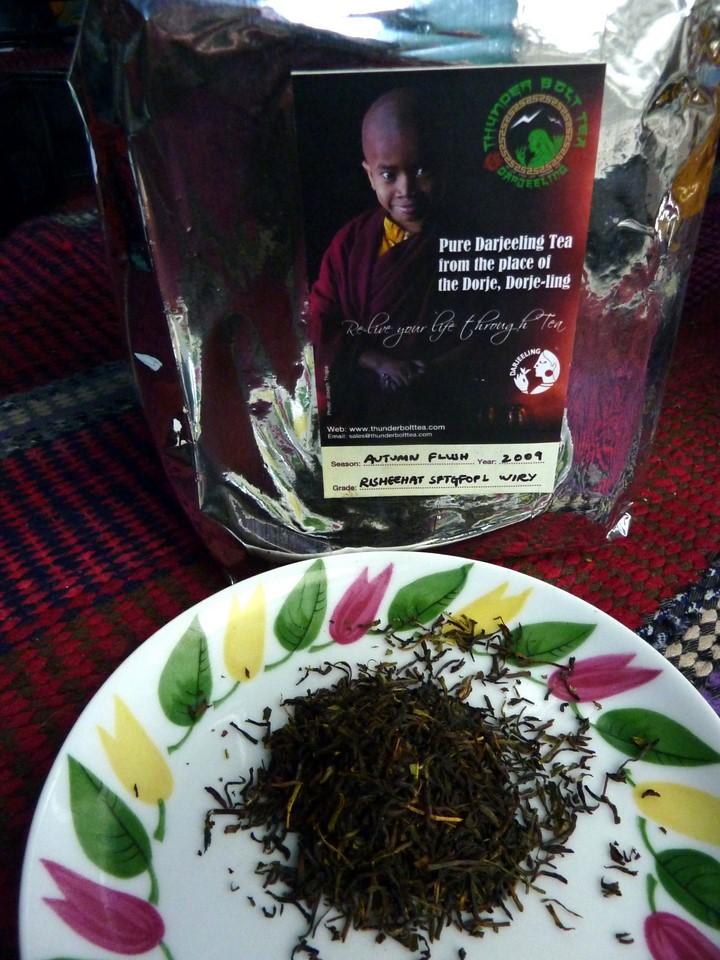 Risheehat SFTGFOP 1 Wiry Darjeeling tea