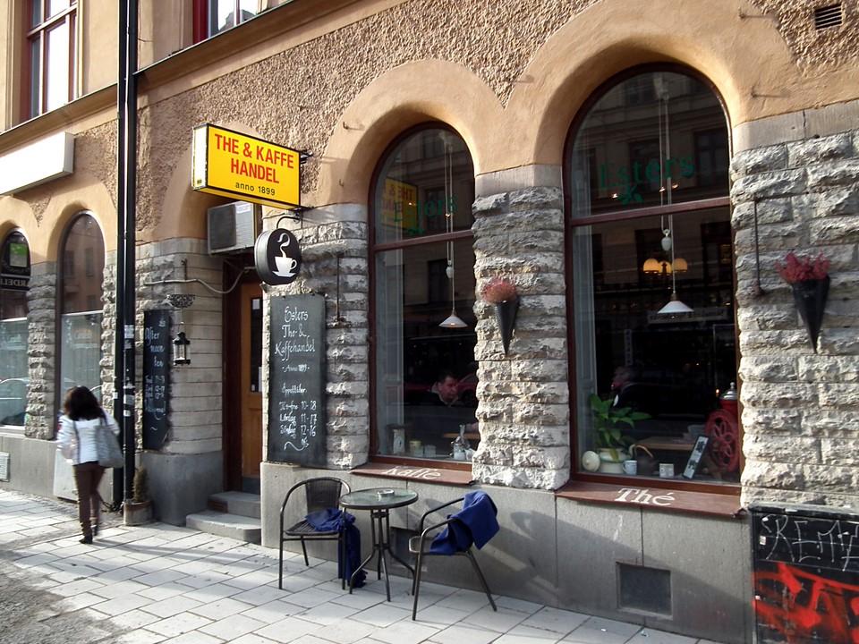 Esters The & Kaffehandel, Stockholm