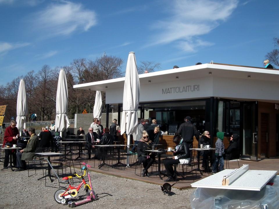 Café Mattolaituri, Helsinki