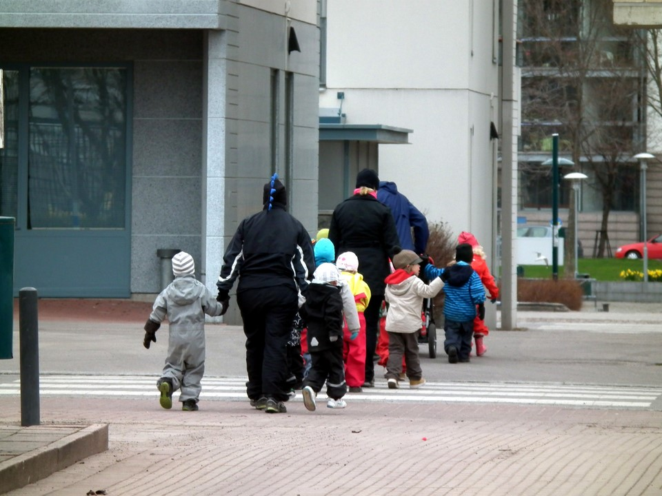 Kadunylitys / Street crossing