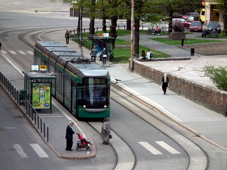 Raitiovaunu / Tramway 7A, Helsinki