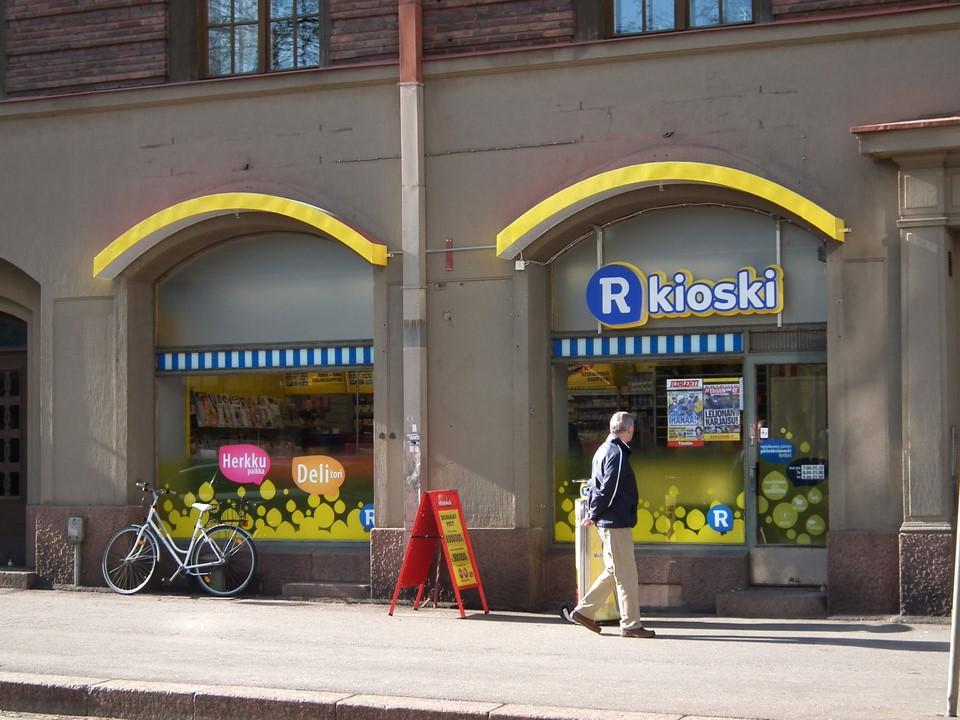 Tehtaankadun R-Kioski, Helsinki