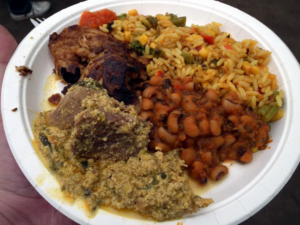 Nigerian food / Nigerialaista ruokaa