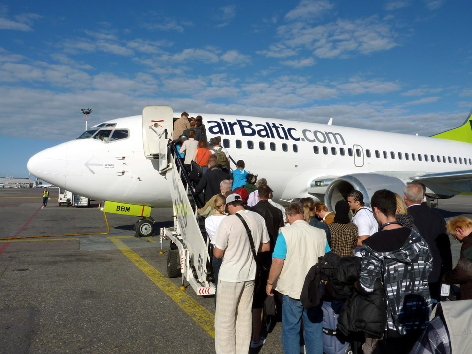 AirBaltic Boeing 737-500