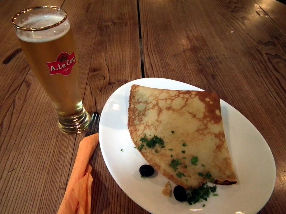 Restaurant Kompressor pancake, Tallinn, Estonia
