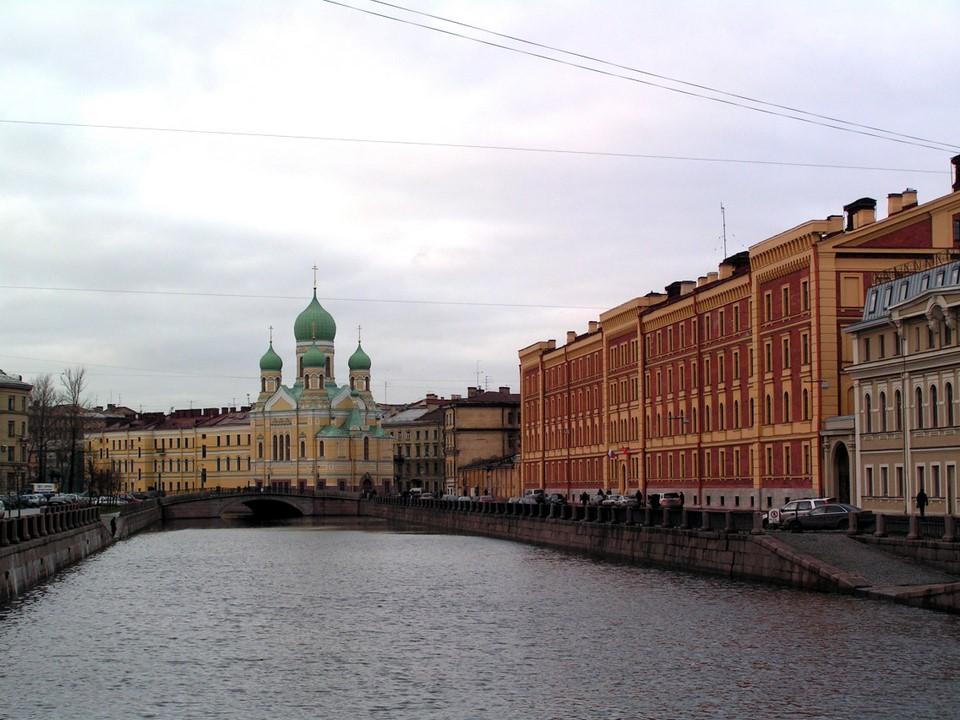 Griboyedova Canal, St Petersburg / Pietari