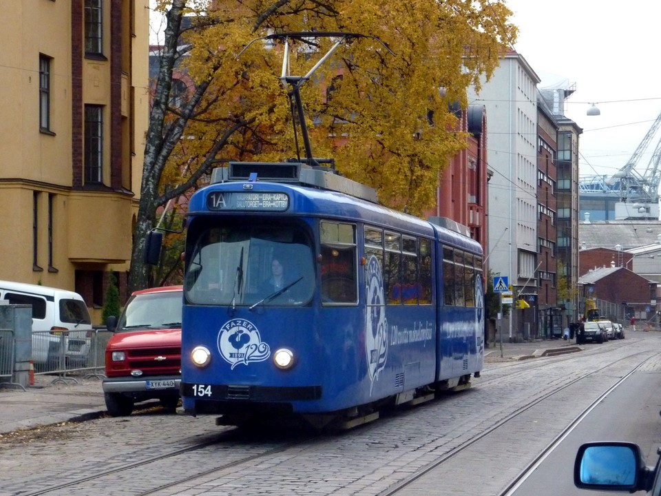 Tramway / Raitiovaunu 1A, Eira (Helsinki)