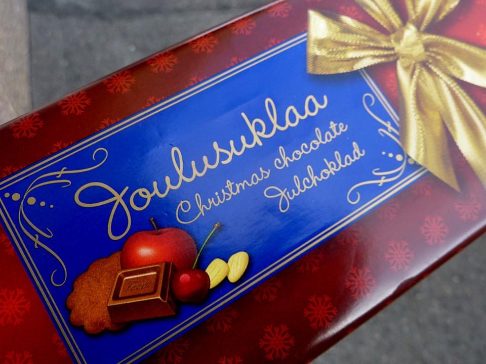 Fazer Joulusuklaa / Christmas chocolate