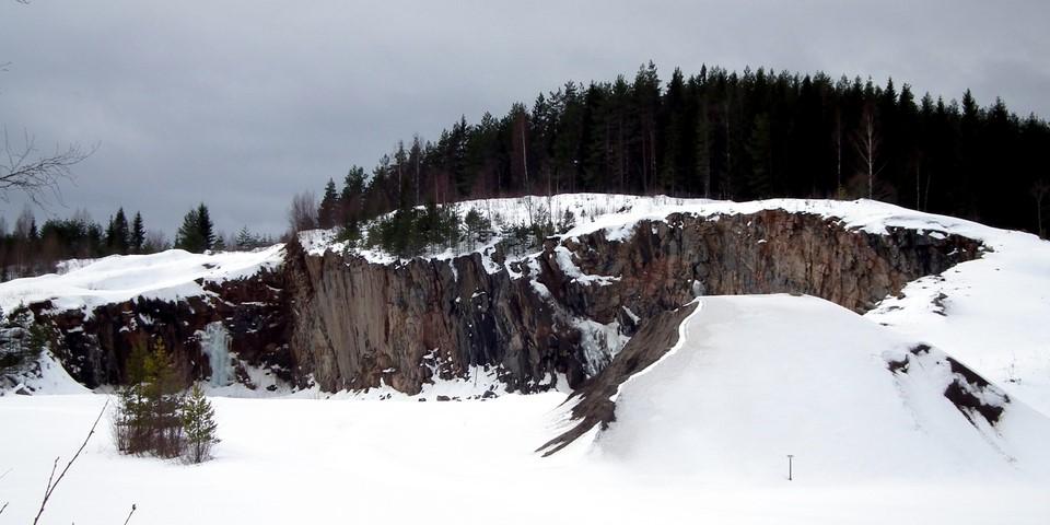 Kivilouhos / Stone quarry, Mikkeli