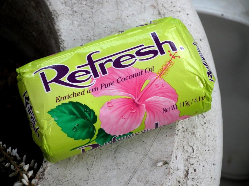 Dominicalainen kookossaippua / Dominican coconut soap