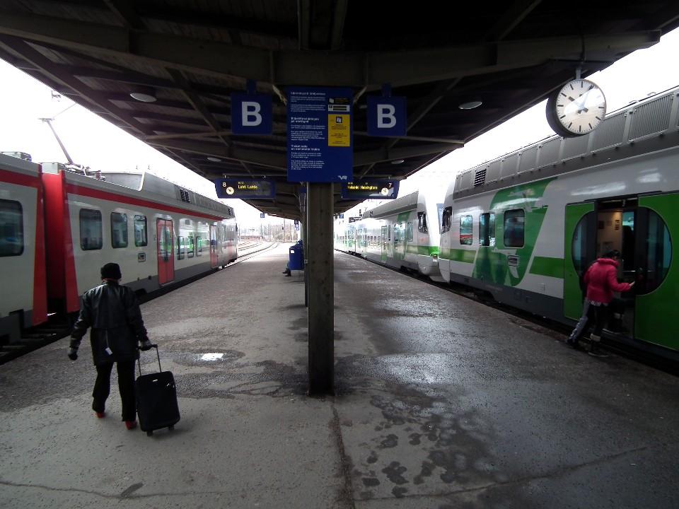 Riihimäen rautatieasema / Riihimäki railway station