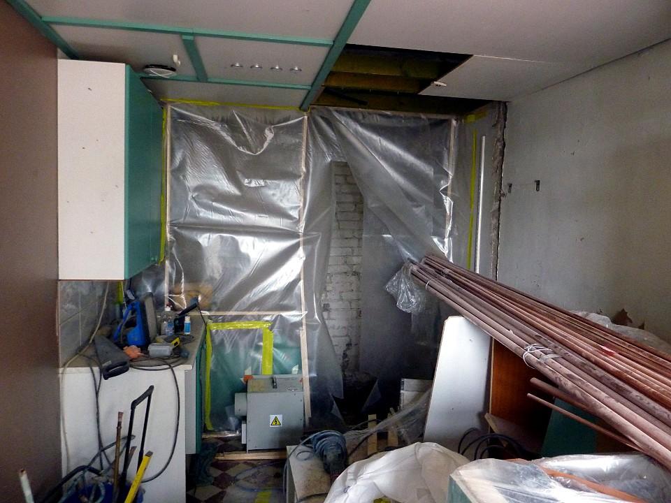 Putkiremontti asunnossa / Pipe repair in the flat