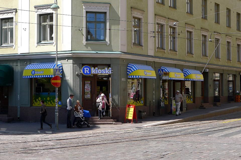 R-kioski, Viiskulma (Helsinki)