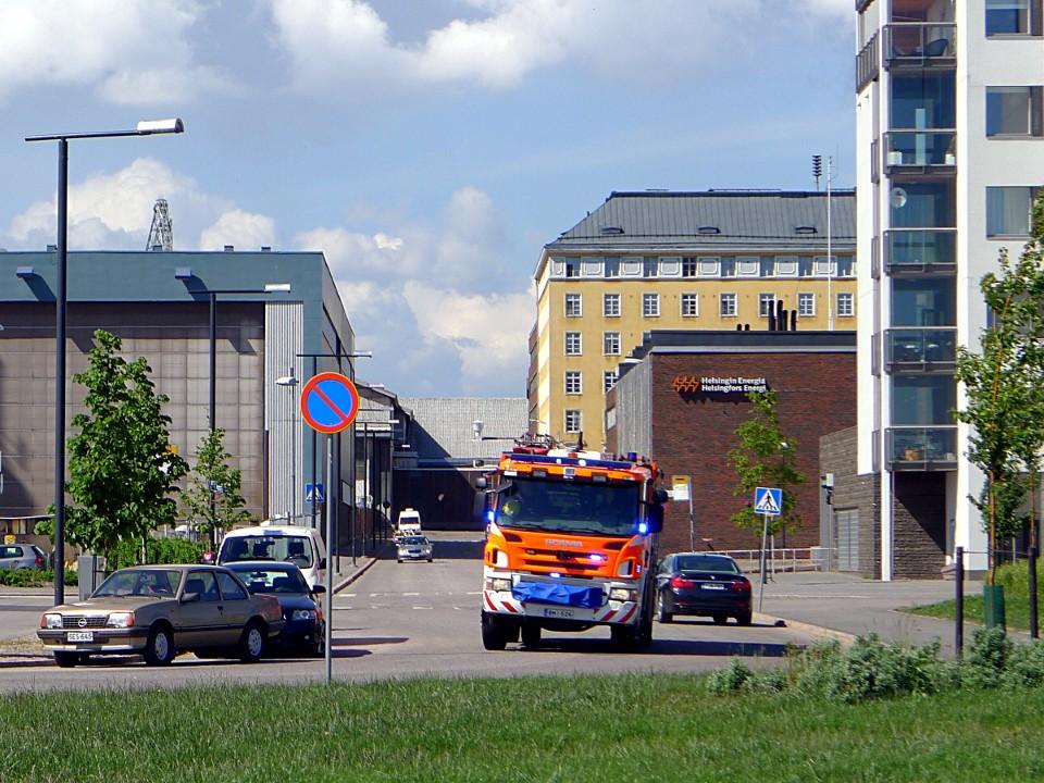Paloauto / Fire truck, Eiranranta (Helsinki)