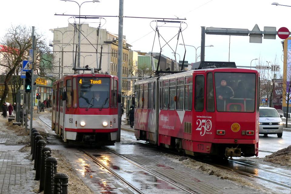 Raitiovaunuja Tallinnassa / Tramways in Tallinn, Estonia