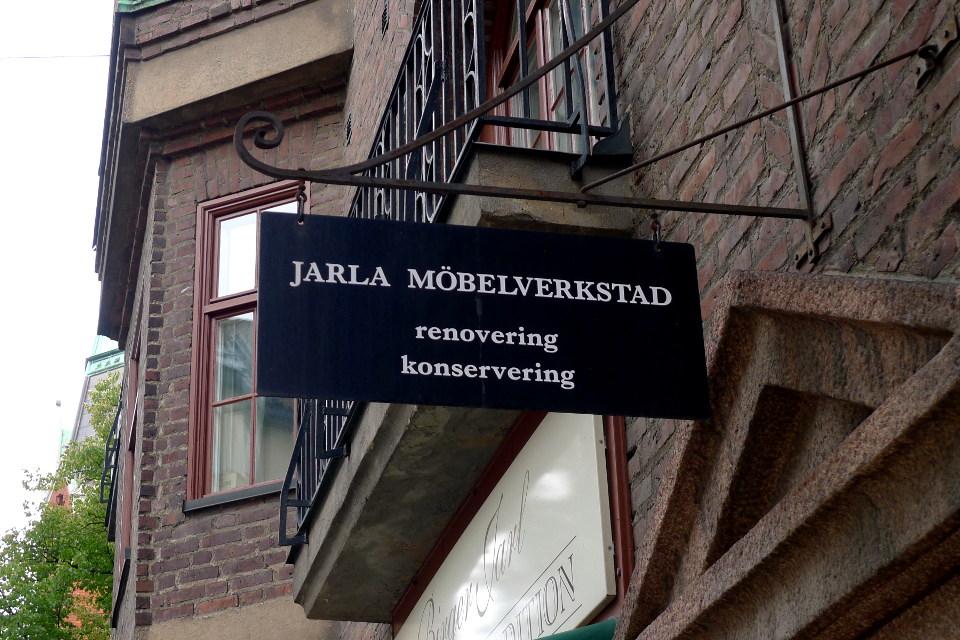 Jarla Möbelverkstad, Stockholm / Tukholma