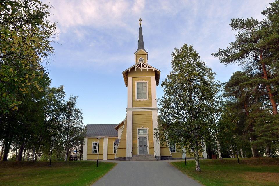 Pajalan kirkko / Pajala Church (Sweden)