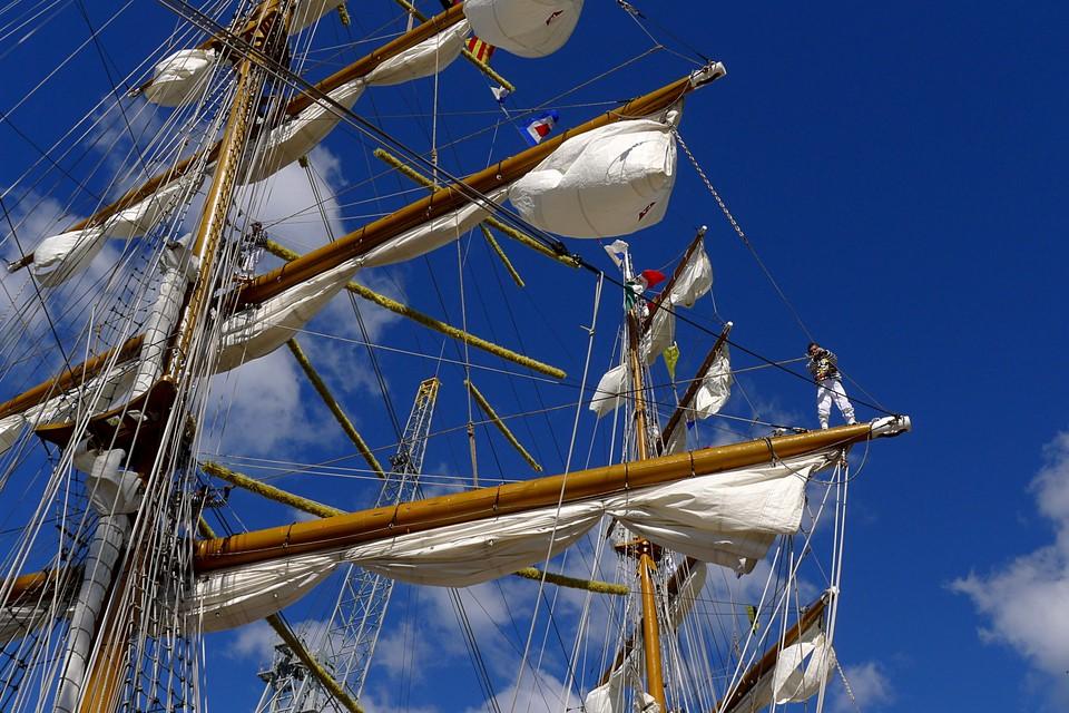ARM Cuauhtémoc - Tall Ships Races - Helsinki 2013