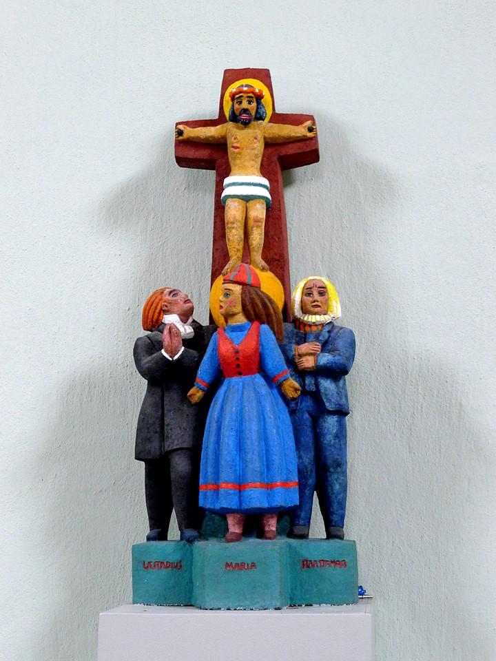 Jeesus ristillä / Jesus on the Cross, Karesuando