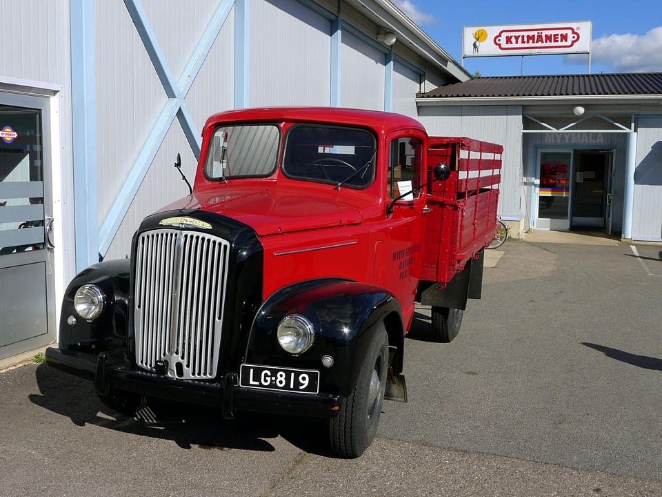 Morris-Commercial truck / kuorma-auto, Rantsila