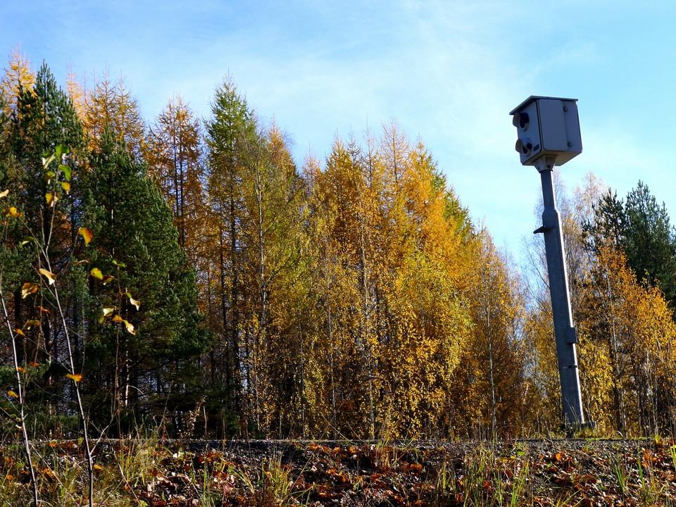 Nopeusvalvontakamera / Speed camera, Mikkeli