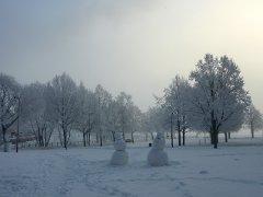 Lumiukkoja