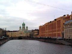 Gribojedovin kanava, Pietari