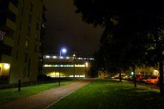 Pimeä syysilta Helsingissä