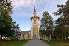 Pajalan kirkko, Ruotsi