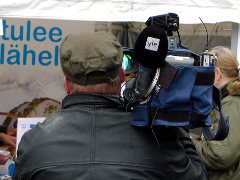 Yleisradion kameramies