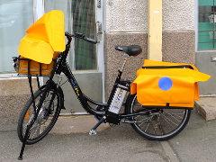 Itellan sähköinen postipyörä