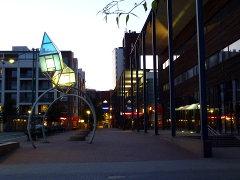 Öinen näkymä Ruoholahdesta (Helsinki)