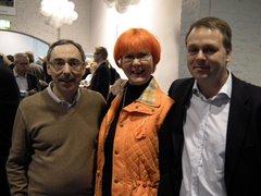 Ben Zyskowicz, Hannele Luukkainen ja Jan Vapaavuori