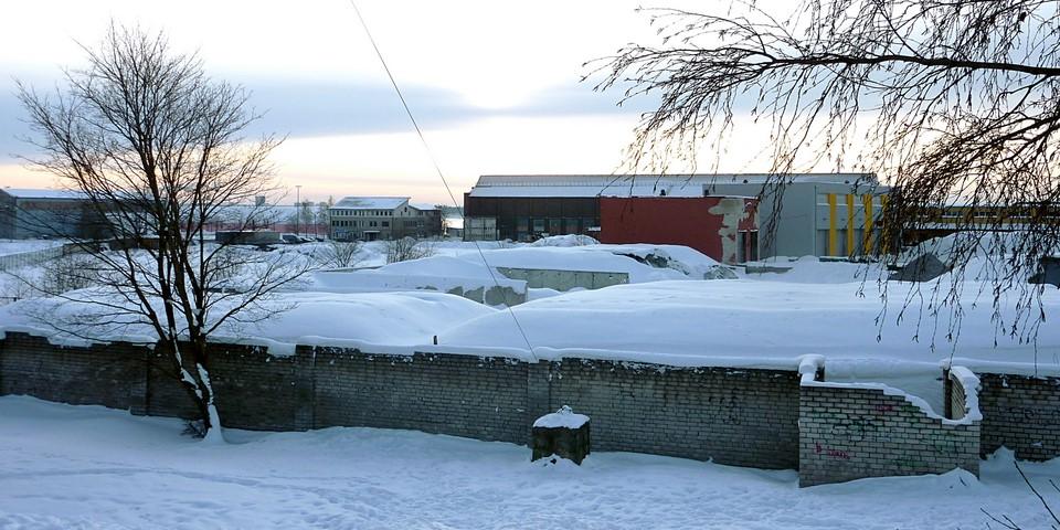 Zone industriella à Kopli