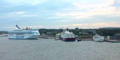 Le port de Mariehamn