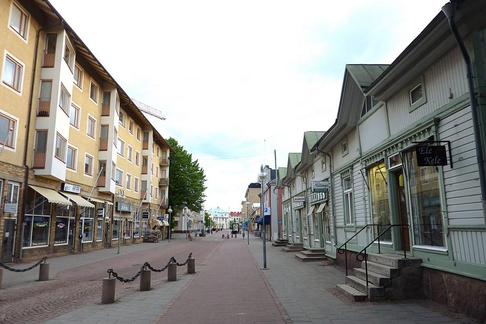 Mariehamn town centre
