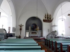 Jomala Church interieur