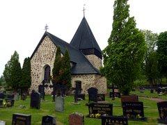 Eckerön kirkko ja hautausmaa