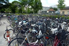 Parking des bicyclettes