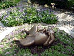 Statue de chien